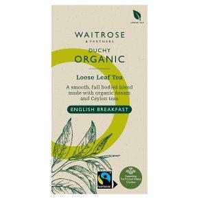 Waitrose Duchy English Breakfast Loose Leaf Tea