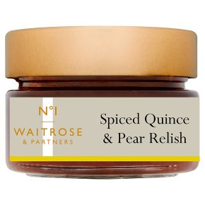 No.1 Spiced Quince & Pear Relish
