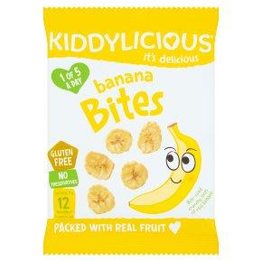 Kiddylicious banana bites