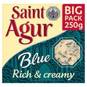 Saint Agur rich & creamy blue big pack