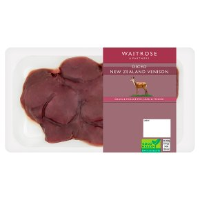 Waitrose NZ Diced Venison