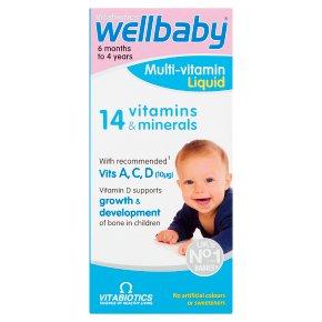 Wellkid Baby & Infant natural orange & vanilla syrup