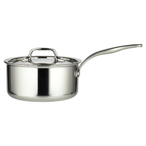 from Waitrose tri-ply lidded saucepan