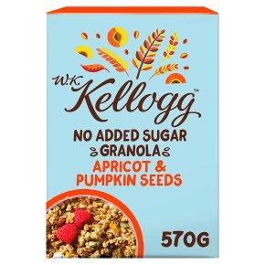 W.K. Kellogg Cereal No Added Sugar Granola Apricot & Pumpkin Seeds