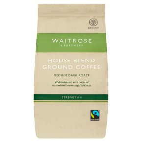 Waitrose Fairtrade café blend ground coffee