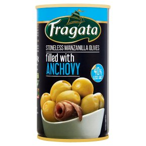 Fragata olives stuffed with anchovy