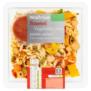 Waitrose Vegetable Orzo Pasta Salad