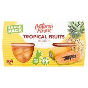 Nature's Finest tropical fruits in juice