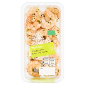 Waitrose World Deli King Prawn, Lime, Soy, Mirin