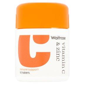 Waitrose Vitamin C & Zinc
