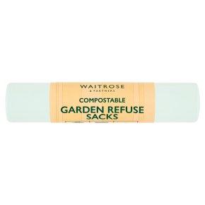 Waitrose Compostable Garden Refuse Sacks