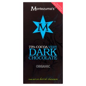 Montezuma's organic dark chocolate