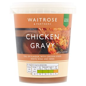 Waitrose Chicken Gravy