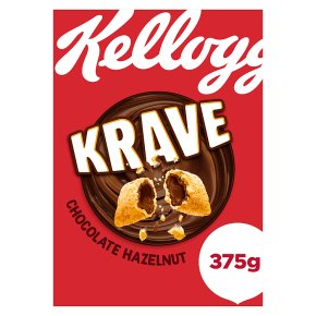 Kellogg's Krave Chocolate Hazelnut Cereal