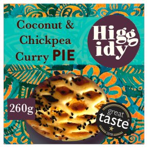 Higgidy Coconut Spiced Chickpea Pie
