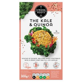 Strong Roots Kale & Quinoa Burgers