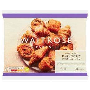 Waitrose 12 Mini French Butter Pastries