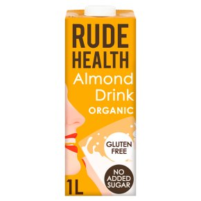 Rude Health organic longlife almond drink