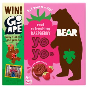 Bear for kids 100% fruit yo yos