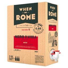 When in Rome Nero d'Avola Siciliy