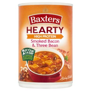 Baxters Hearty Smoked Bacon & Three Bean Soup