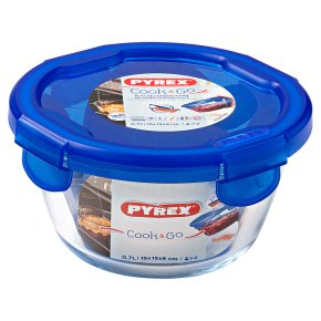 Pyrex Cook & Go Small Round Dish 0.7 L