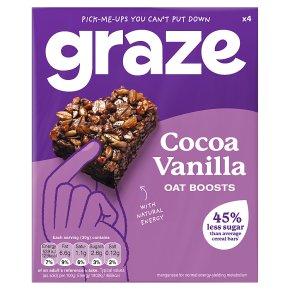 Graze Protein Bites Cocoa Vanilla Oat Squares