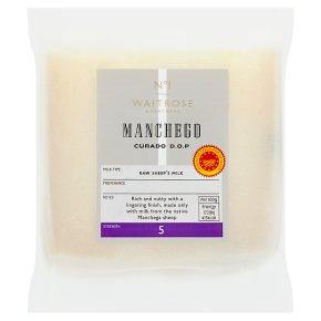 Waitrose 1 Manchego Curado DOP