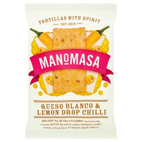 Manomasa Queso Blanco & Lemon Drop Chilli