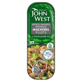 John West Smoked Peppered Mackerel