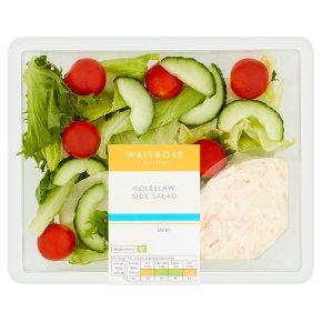 Waitrose deli style coleslaw side salad