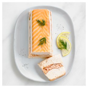 Layered Salmon Terrine