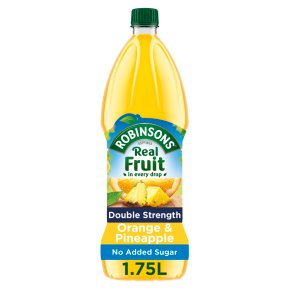 Robinsons Double Strength NAS Orange & Pineapple