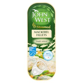 John West Steamed Mackerel Fillets