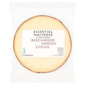 essential Waitrose Bavarian smoked cheese, strength 3