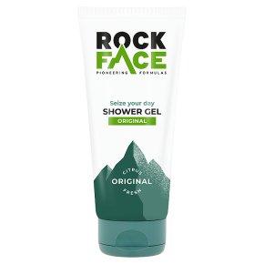 Rock Face shower wash