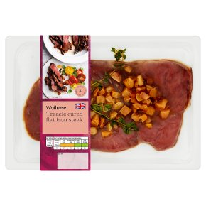 Waitrose Treacle Cured Flat Iron Steak