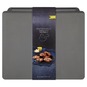 from Waitrose 35x30cm hard anodised baking sheet
