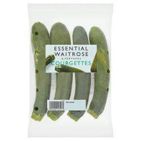 essential Waitrose courgettes