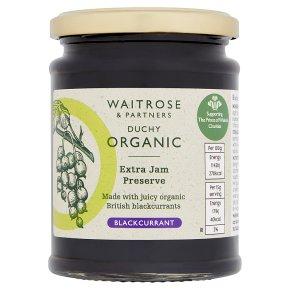 Waitrose Duchy Organic blackcurrant preserve