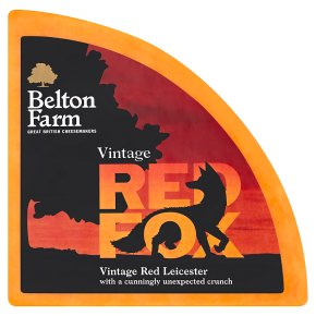Waitrose 1 Vintage Red Fox Matured Red Leicester