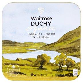 Waitrose Duchy Highland All Butter Shortbread Tin
