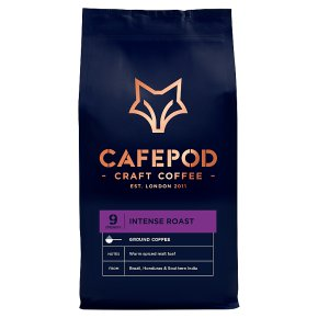 CafePod Coffee Co. Ground Coffee Intense