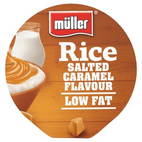 Müller Rice Salted Caramel Flavour