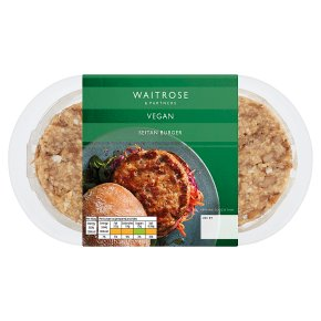 Waitrose Vegan Seitan Pattie