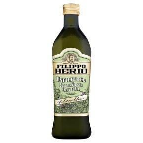 Filippo Berio unfiltered extra virgin olive oil