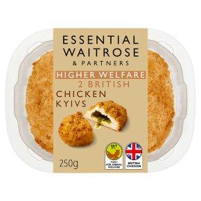 essential Waitrose 2 garlic breaded chicken kievs