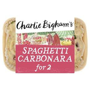 Charlie Bigham's spaghetti carbonara