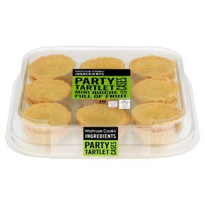 Waitrose 18 Party Tartlet Cases