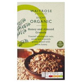 Waitrose Duchy Honey & Almond Granola